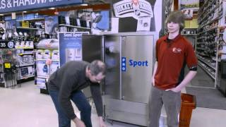Hub media checks out Sani Sport  at Canadian Tire