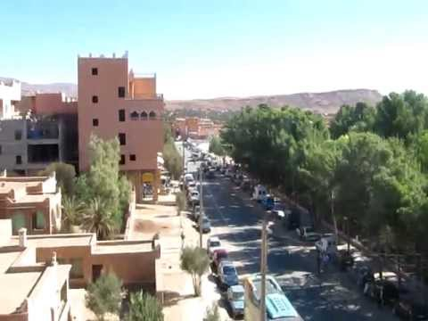 Downtown Tinghir - Morocco