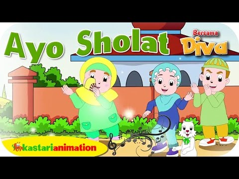 AYO SHOLAT- Lagu Anak Indonesia - HD | Kastari Animation Official