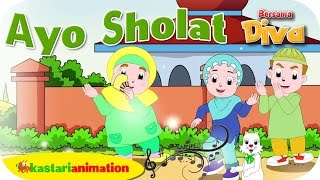 AYO SHOLAT Lagu Anak Indonesia HD Kastari Animation Official