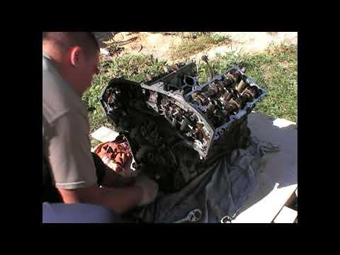 Сборка двигателя VQ35DE (#своимируками)