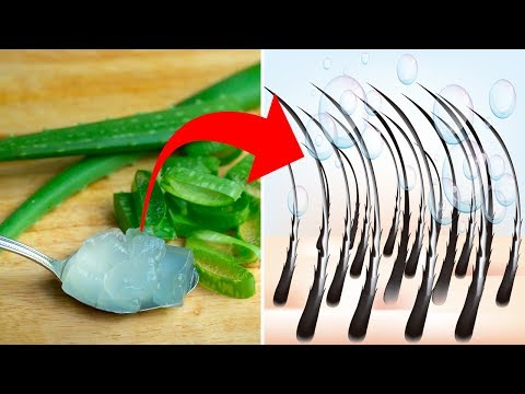 This Is Why You Need To Use Aloe Vera On Your Hair