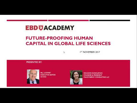 Future-Proofing Human Capital in Global Life Sciences