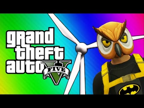 Thumbnail: GTA 5 Online: Windmill Bridge of Death & Red vs. Blue (GTA 5 Fun Jobs)