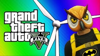 GTA 5 Online: Windmill Bridge of Death & Red vs. Blue (GTA 5 Fun Jobs)