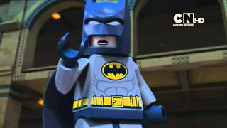 Cartoon Network UK HD DC Comics Super Heroes: Lego Batman Be-Leaguered Promo