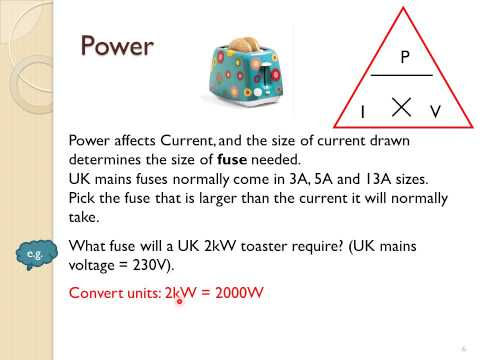 Electrical power and energy transferred (GCSE)