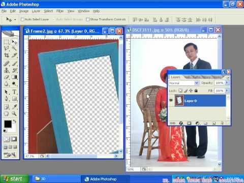 7iun Huong Dan Photoshop CS3 - Cach Tao Dung Hinh 2/39