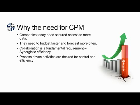 Webinar: Godlan CPM Powered by Prophix - Get Total Control of Financial Processes
