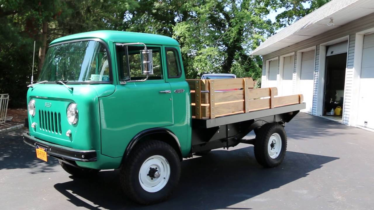 1962 Willys Fs170 Jeep 4x4 For Sale Youtube
