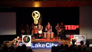 African drum and dance | Africa Heartwood Project | TEDxSaltLakeCity