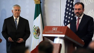 Mexico expresses 'worry and irritation' about US policies to Trump envoys