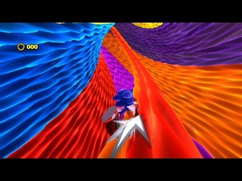 Sonic: Lost World gameplay footage shows off three very different levels