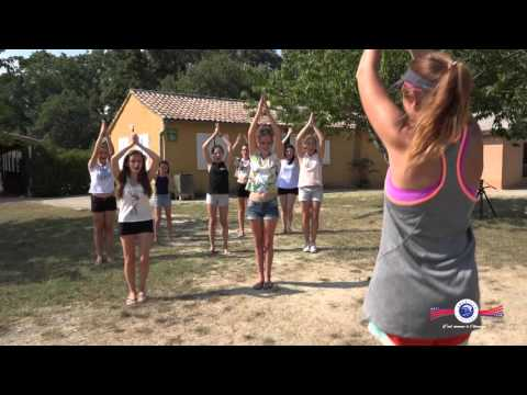 The American Village Camps in France promotional video (French)