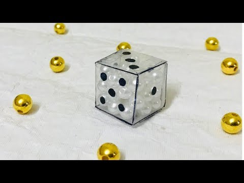 How to make a Classy Dice at Home | Easy and Simple DIY Play Dice | Summer Craft