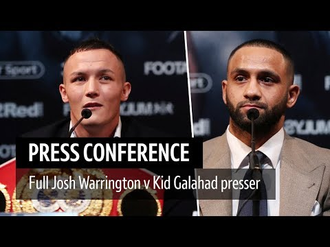 Full Josh Warrington v Kid Galahad press conference | Big beef in the Yorkshire derby!