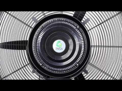 Как работает и распыляет воду водяной вентилятор для дома и улицы