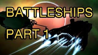 Kinetic Void - Building Battleships (Part 1)