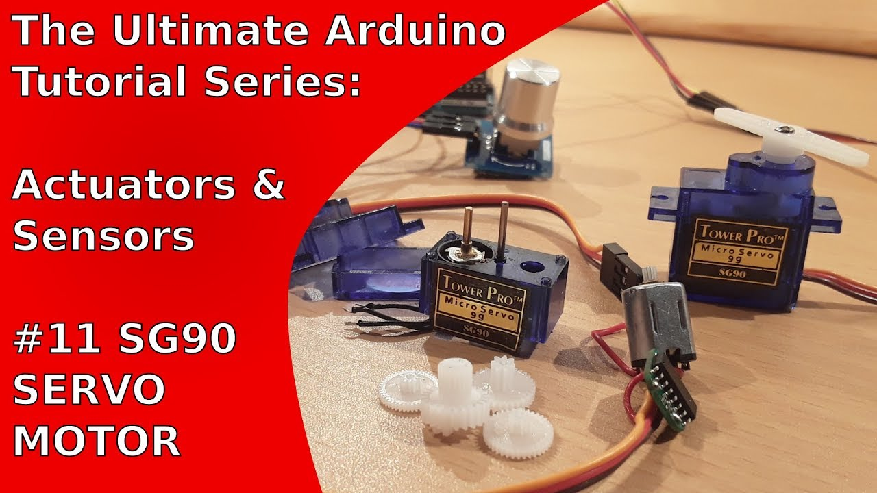 Tutorial: How to control the SG90 servo motor with an Arduino Uno | UATS  A&S #11