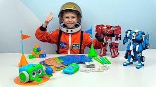 ТОБОТЫ и Умный РОБОТ Ботли. Астронавт Даник и Развивающие ИГРУШКИ для детей. Botley the coding Robot
