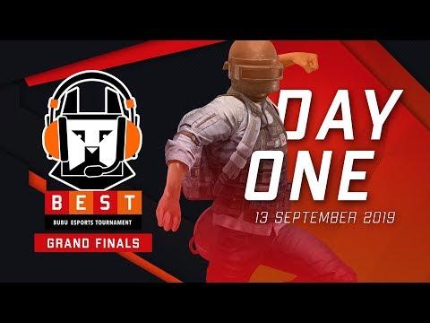 [LIVE PUBGM] B.E.S.T 2019 Grand Finals Day 1 - BUBU Esports Tournament 2019