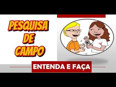 Видео Questionário para pesquisa de campo monografia