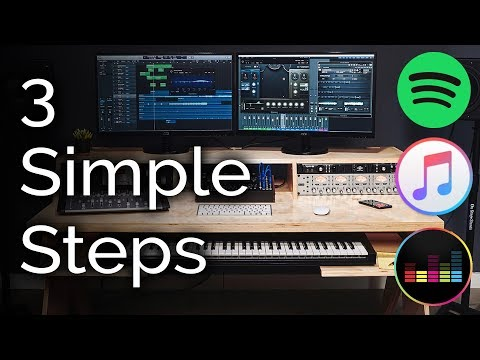 Get your music on Spotify and iTunes - 3 Easy Steps