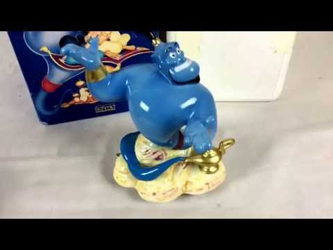 Schmid Disney Aladdin Genie music box tune