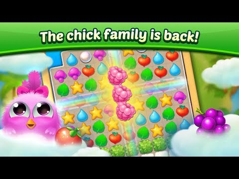Puzzle Wings: Offline Match 3 & Free Kids Games Android Gameplay