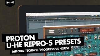 u-he Repro-5 Presets Melodic Progressive Techno (Audiotent - Proton)