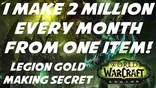 World of Warcraft Gold Making Secret - 2 Million Gold Every Month!