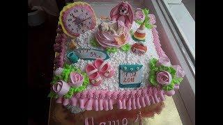 тортик детский Подушка