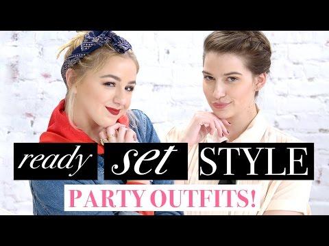 PARTY OUTFIT CHALLENGE?! w/ Chloe Lukasiak & Marissa Rachel!