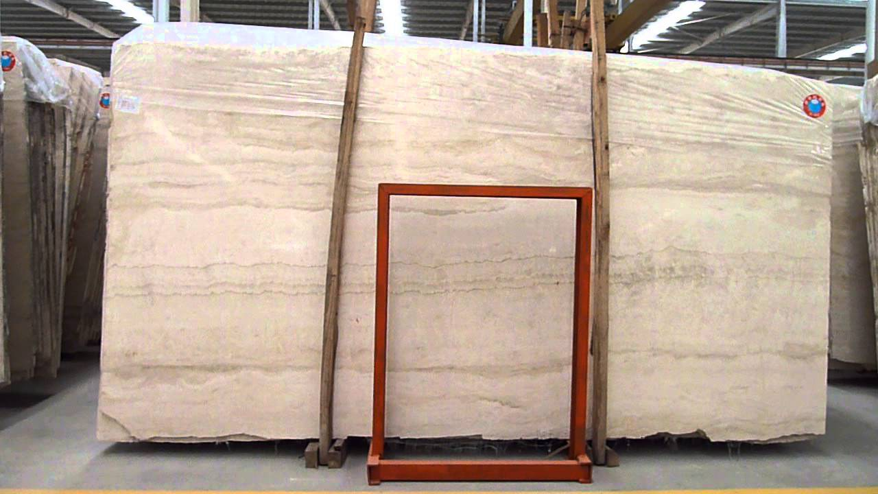 Iran Beige Travertine Marble Slab Tile