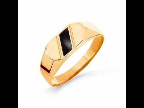Купить золотую мужскую печатку