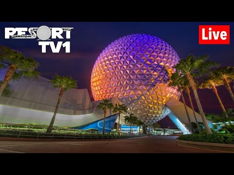 🔴Live: Epcot Friday Night Live Stream 1080p With Dis N' That - Walt Disney World - 1-10-20