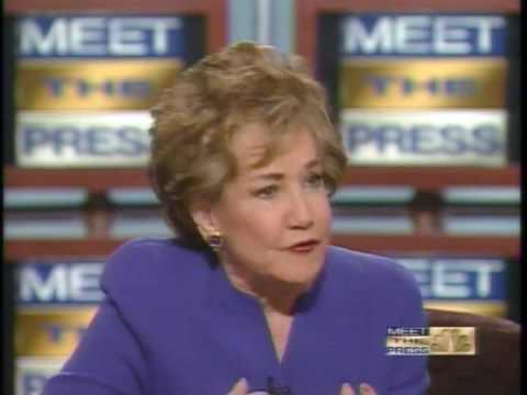 Meet the Press- Liddy Dole on Washington Experience