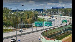 Смотреть видео Стало известно, когда будет полностью открыта трасса М11 «Москва— Санкт-Петербург» онлайн