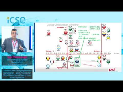 Ian Parsonage - PCI Pharma Services - Domestic and Emerging Markets Serialization
