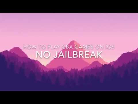 Install GBA4iOS Gameboy Advance iOS 11 - 11 2 6 / 10 / 9 FREE NO Jailbreak  iPhone iPad iPod