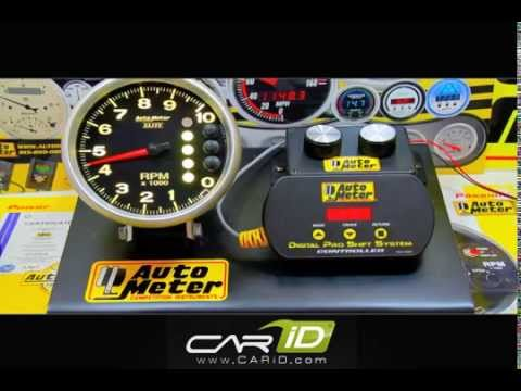 Auto Meter - Programming The Elite Pit Road Speed Tach To Avoid Pit Road Speed Penalties