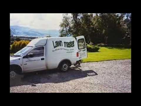Lawn care vans in the industry youtube for Garden maintenance van