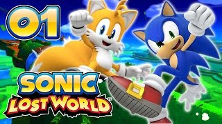 Sonic Lost World : Le retour du hérisson bleu | 01 - Let's Play FR