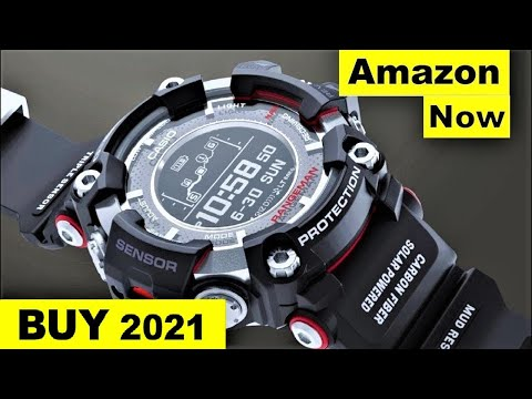 Top 5 New Casio G Shock Watches For Men To Buy In 2020