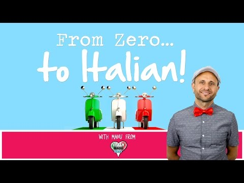 Answering questions on ''From Zero to Italian' [LIVE]