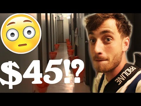 THE $45 DOLLAR HOSTEL IN NEW YORK CITY. (OMG)