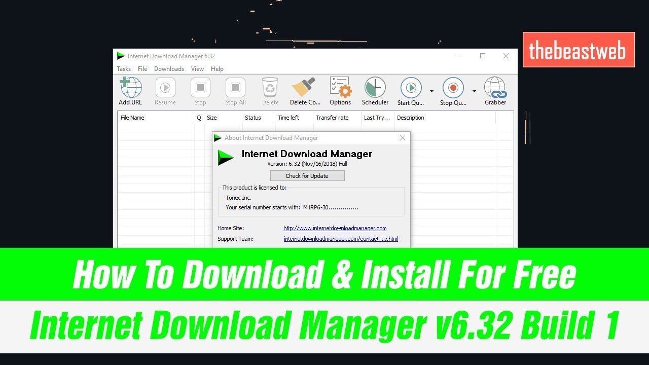 free download interner download manager