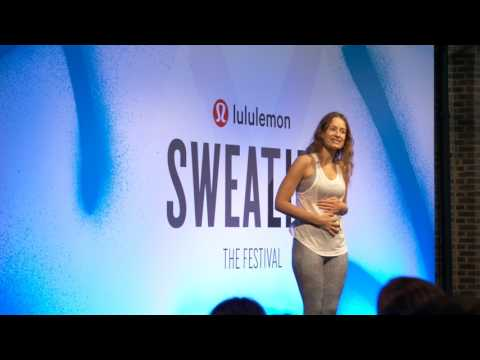 lululemon | How Your Body Talks with Jody Shield at Sweatlife Festival
