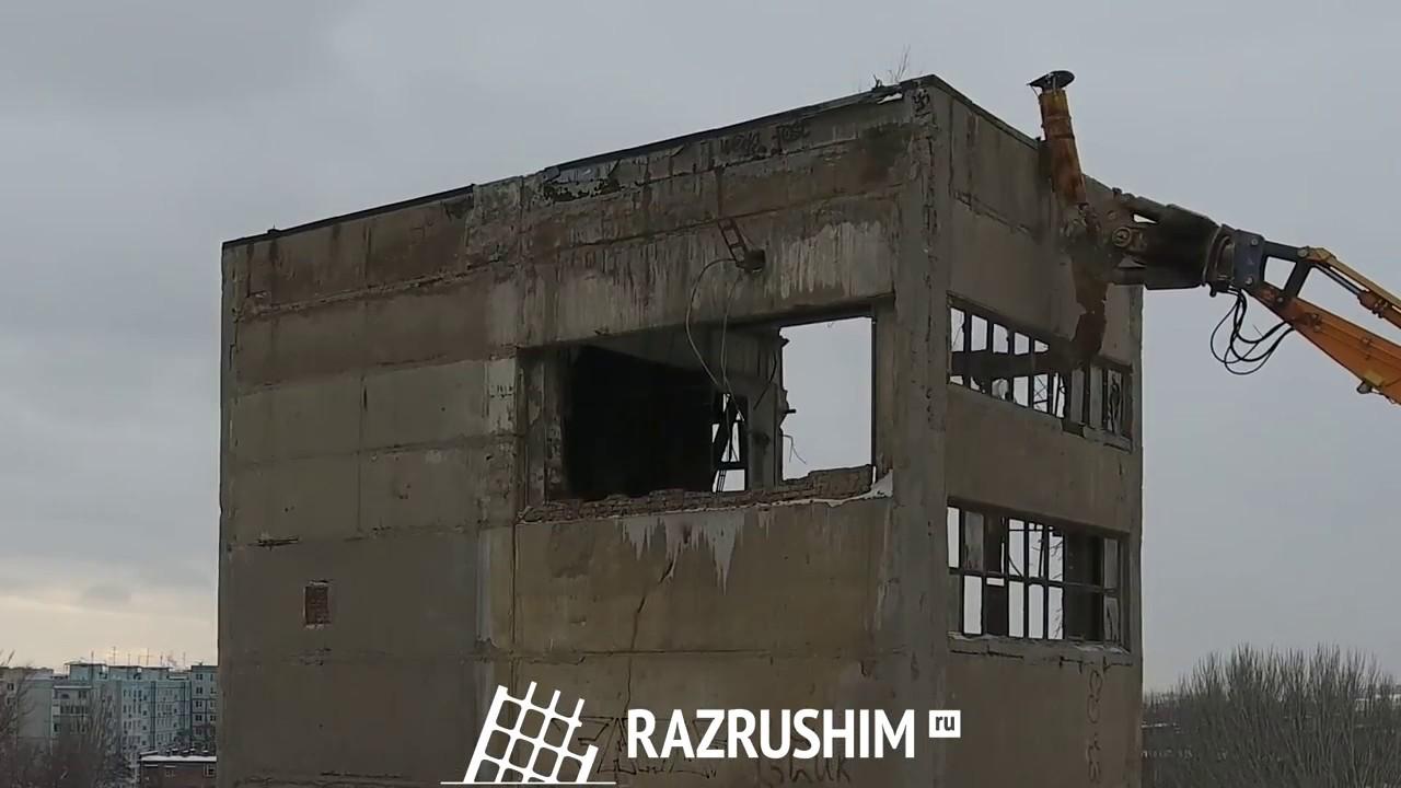 Демонтаж Ростовского завода железобетонных изделий