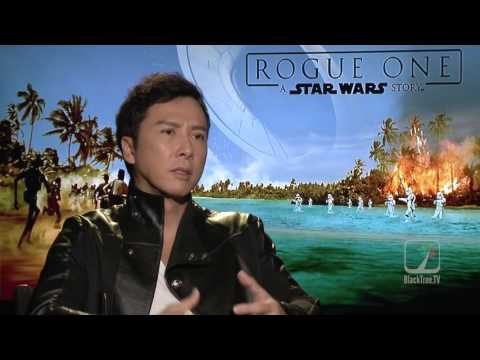 Donnie Yen (³Chirrut²) aka IP MAN interview for ROGUE ONE
